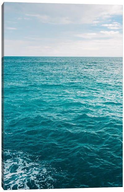Amalfi Coast Water XVII Canvas Art Print