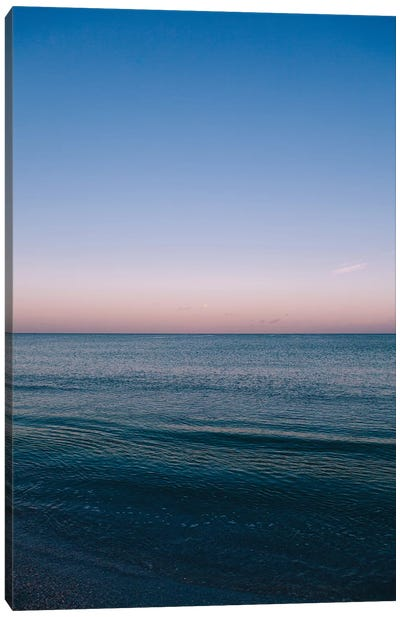 Florida Ocean Sunrise Canvas Art Print