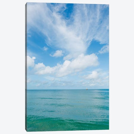 Florida Ocean View V Canvas Print #BTY1107} by Bethany Young Canvas Print