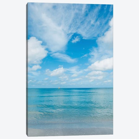 Florida Ocean View Canvas Print #BTY1112} by Bethany Young Canvas Print