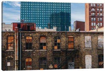 Downtown Milwaukee Canvas Art Print
