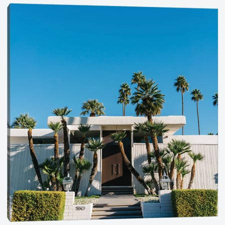 Palm Springs Architecture Canvas Print #BTY1135} by Bethany Young Canvas Wall Art