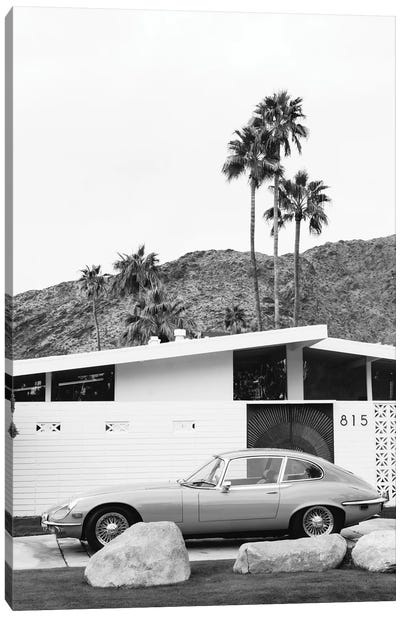Palm Springs Ride II Canvas Art Print