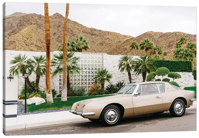 Palm Springs Ride III Canvas Art Print