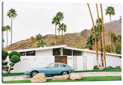 Palm Springs Ride I Canvas Art Print