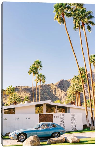 Palm Springs Ride VIII Canvas Art Print