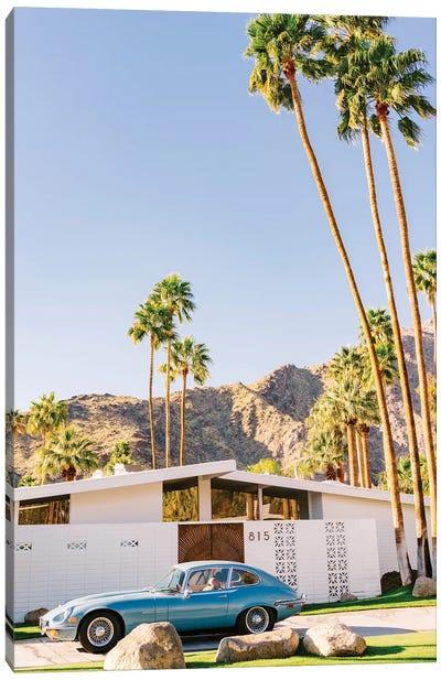 Palm Springs Ride VIII Canvas Art Print
