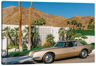 Palm Springs Ride X Canvas Art Print