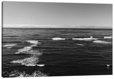 Sunset Cliffs Surfers II Canvas Art Print