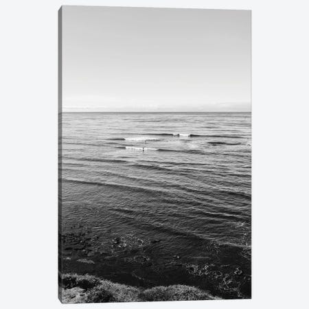 Sunset Cliffs Surfers III Canvas Print #BTY1159} by Bethany Young Canvas Art Print