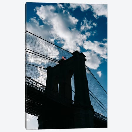 Brooklyn Blue Sky II Canvas Print #BTY1163} by Bethany Young Canvas Wall Art