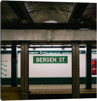 Brooklyn Subway III Canvas Art Print