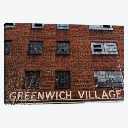 Greenwich Village Garage III Canvas Print #BTY1173} by Bethany Young Canvas Art Print