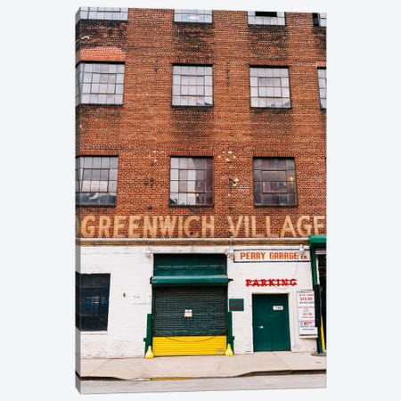 Greenwich Village Garage Canvas Print #BTY1174} by Bethany Young Canvas Artwork