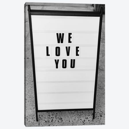 We Love You, New York Canvas Print #BTY1176} by Bethany Young Canvas Wall Art