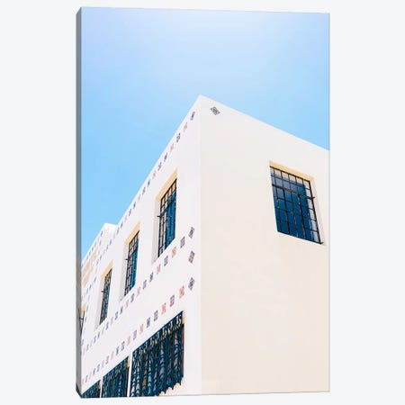 Marfa Brite Building Canvas Print #BTY1183} by Bethany Young Canvas Artwork