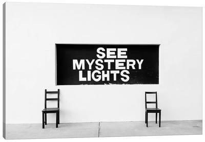 Marfa Mystery Lights Canvas Art Print