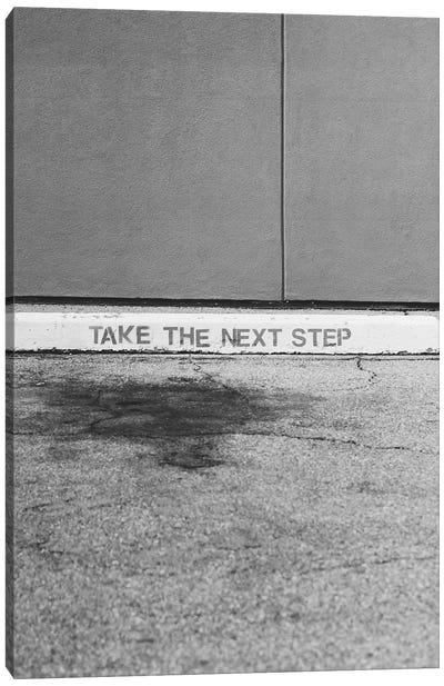 Take The Next Step Canvas Art Print