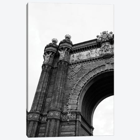 Arc de Triomf de Barcelona Canvas Print #BTY1244} by Bethany Young Canvas Wall Art