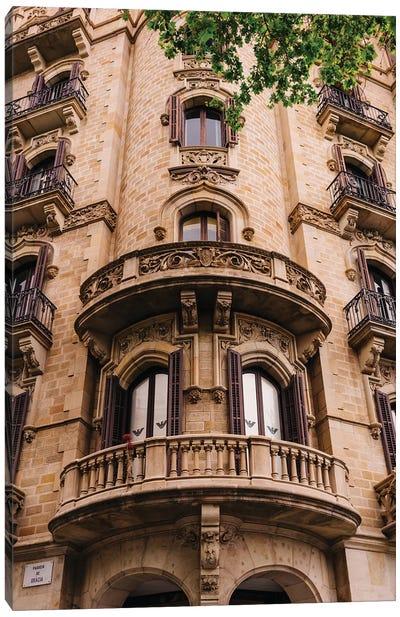Barcelona Architecture II Canvas Art Print
