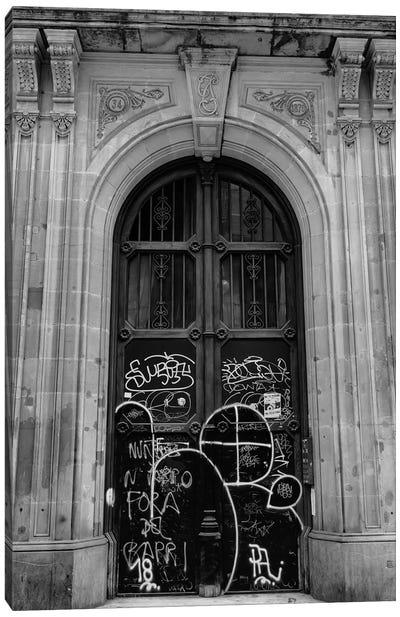 Barcelona Doors II Canvas Art Print