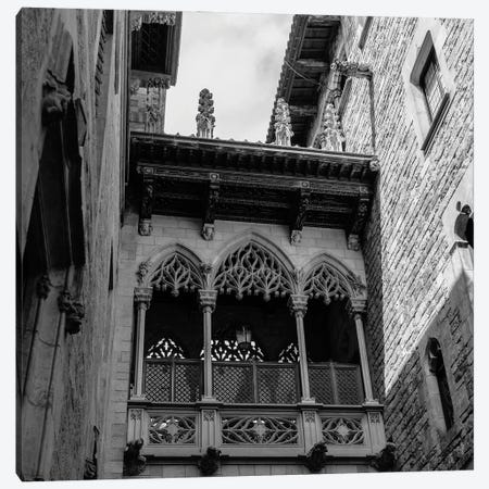 Barcelona Gothic Quarter II Canvas Print #BTY1262} by Bethany Young Art Print