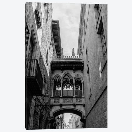 Barcelona Gothic Quarter Canvas Print #BTY1263} by Bethany Young Art Print