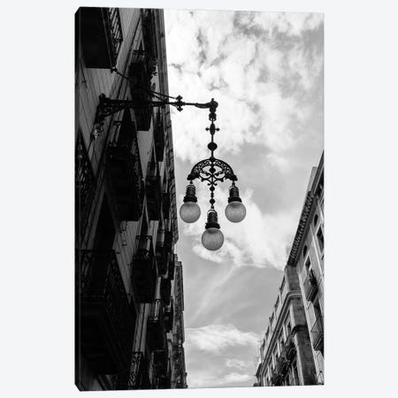 Barcelona Lights Canvas Print #BTY1268} by Bethany Young Art Print