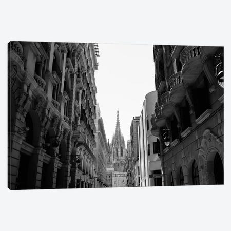 Cathedral of Barcelona Canvas Print #BTY1276} by Bethany Young Canvas Print