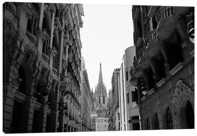 Cathedral of Barcelona Canvas Art Print