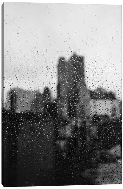 Brooklyn Rain Canvas Art Print