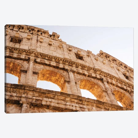 Roman Coliseum IV Canvas Print #BTY1283} by Bethany Young Art Print