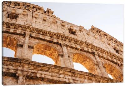 Roman Coliseum IV Canvas Art Print