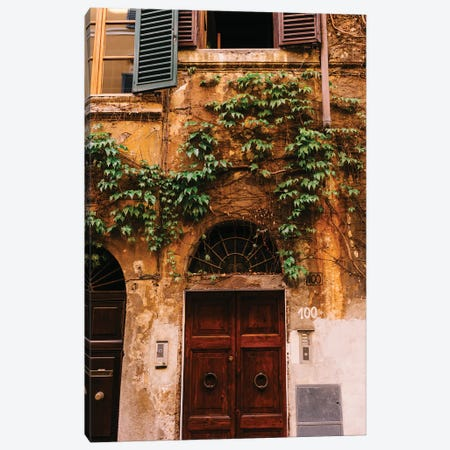 Roman Door XXI Canvas Print #BTY1286} by Bethany Young Canvas Wall Art