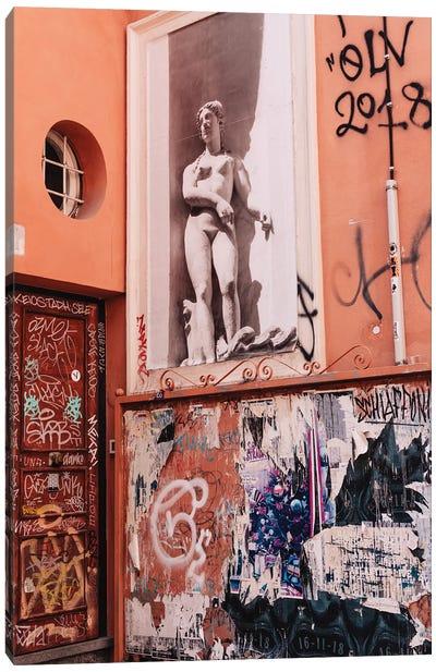Italian Street Art XI Canvas Art Print
