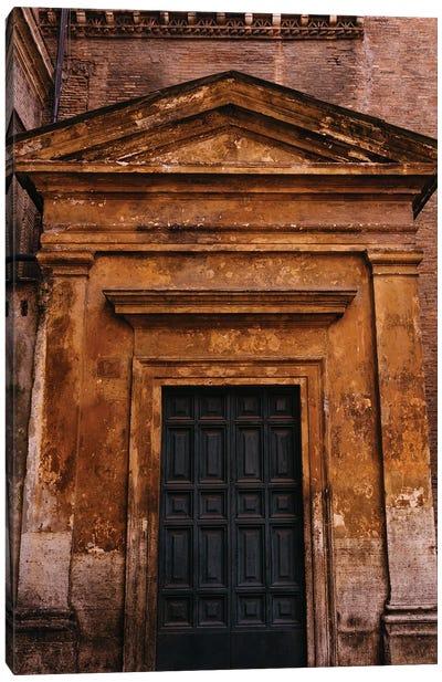 Roman Door XXII Canvas Art Print