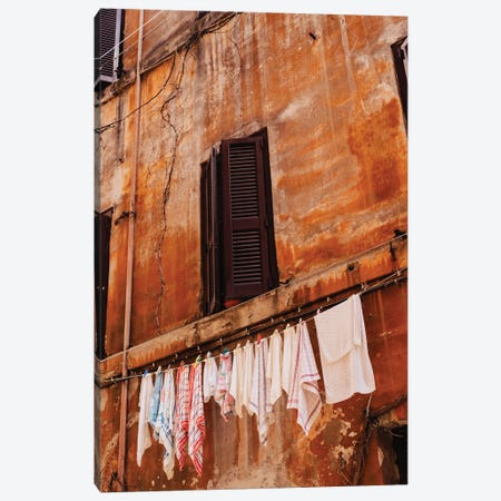 Roman Streets Canvas Print #BTY1294} by Bethany Young Art Print