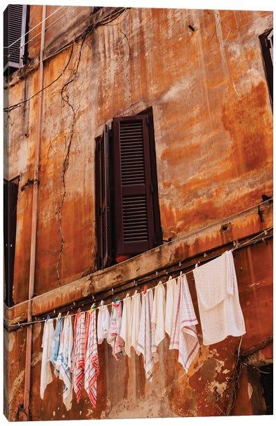 Roman Streets Canvas Art Print