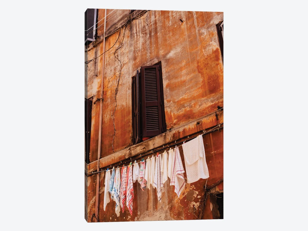 Roman Streets by Bethany Young 1-piece Canvas Print
