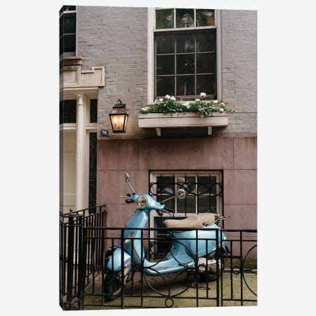 Greenwich Village Ride Canvas Print #BTY1304} by Bethany Young Art Print