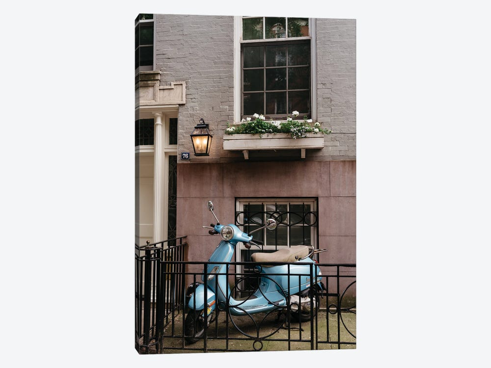 Greenwich Village Ride by Bethany Young 1-piece Canvas Print
