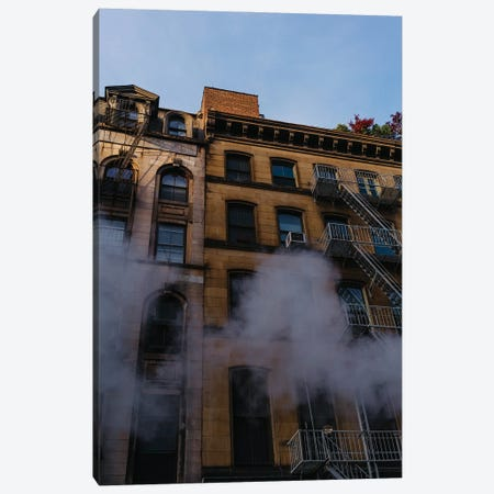 Manhattan Steam Canvas Print #BTY1317} by Bethany Young Canvas Artwork