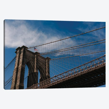 Brooklyn Bridge IV Canvas Print #BTY1320} by Bethany Young Canvas Art