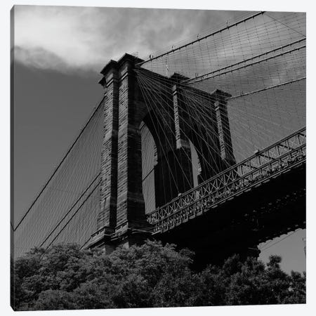 Brooklyn Bridge V Canvas Print #BTY1321} by Bethany Young Canvas Art