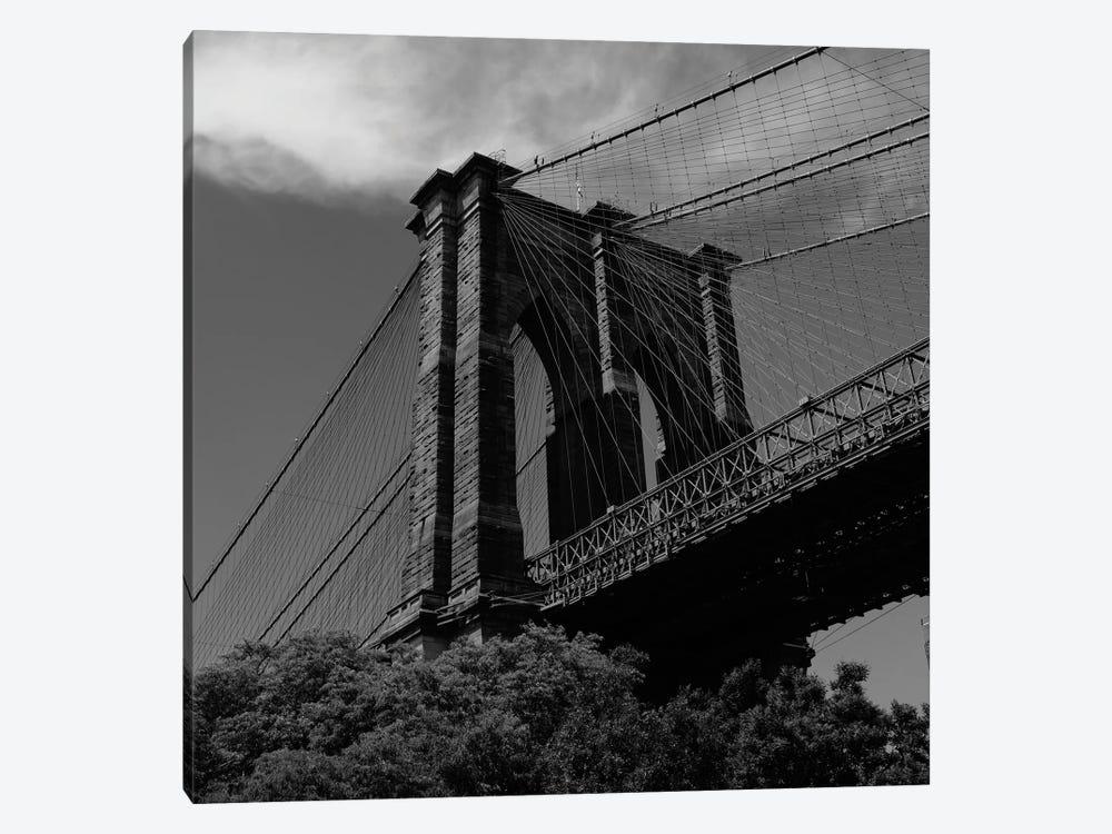Brooklyn Bridge V by Bethany Young 1-piece Canvas Wall Art