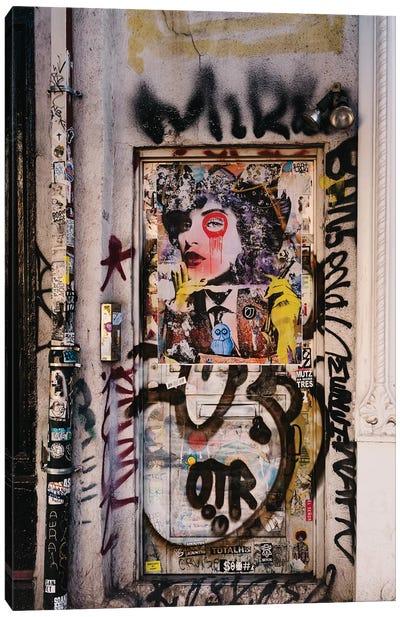 East Village Street Art II Canvas Art Print
