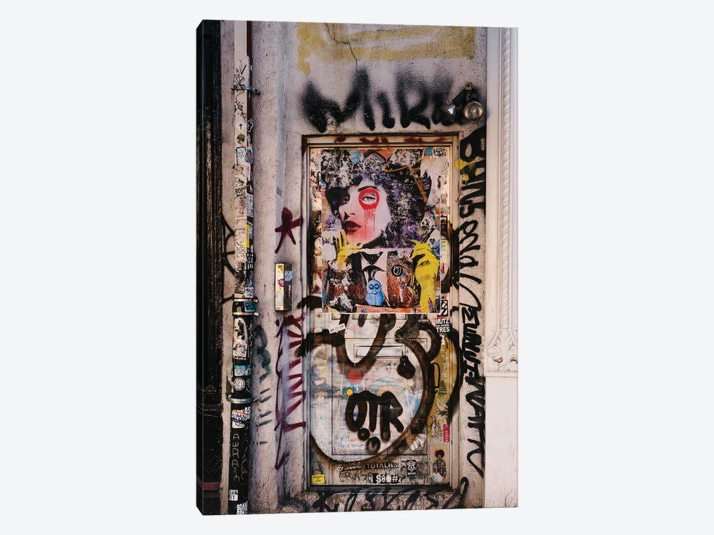 East Village Street Art II by Bethany Young 1-piece Canvas Art Print