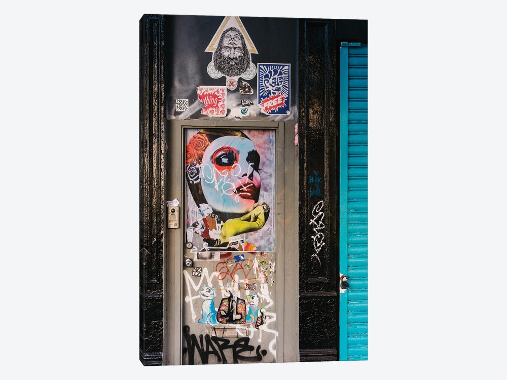 East Village Street Art III by Bethany Young 1-piece Canvas Art