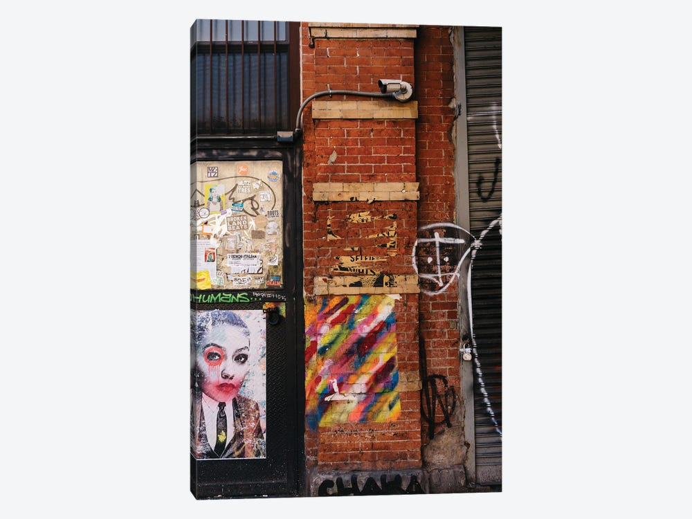 East Village Street Art IV by Bethany Young 1-piece Canvas Art Print