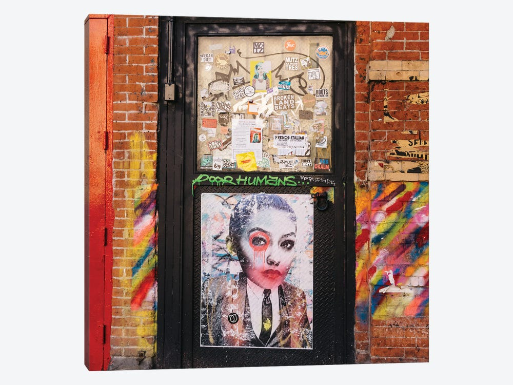 East Village Street Art V by Bethany Young 1-piece Canvas Art